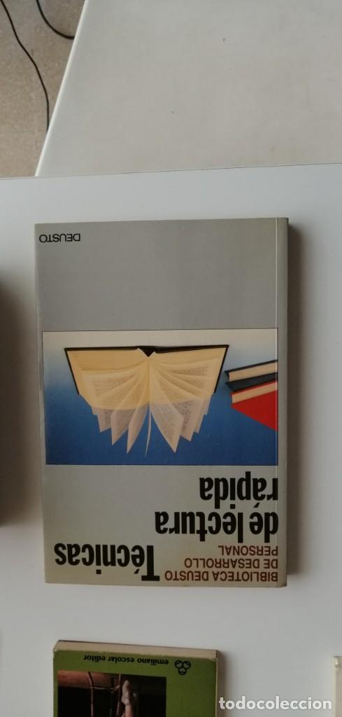 G-33 LIBRO TECNICAS DE LECTURA RAPIDA BIBLIOTECA DEUSTO (Libros nuevos sin clasificar)