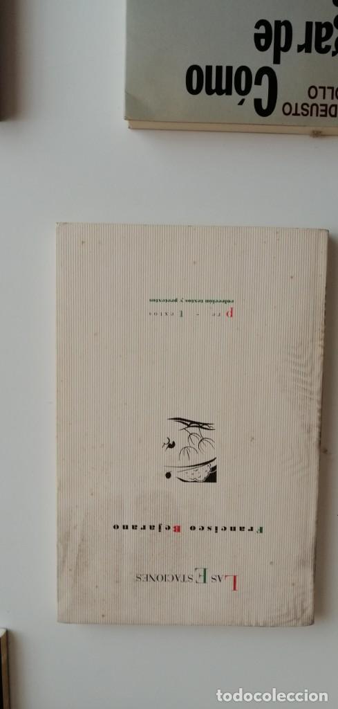 G-33 LIBRO LAS ESTACIONES FRANCISCO BEJARANO (Libros nuevos sin clasificar)