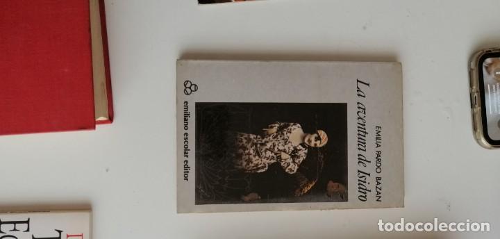 G-33 LIBRO EMILIA PARDO BAZAN LA AVENTURA DE ISIDRO (Libros nuevos sin clasificar)