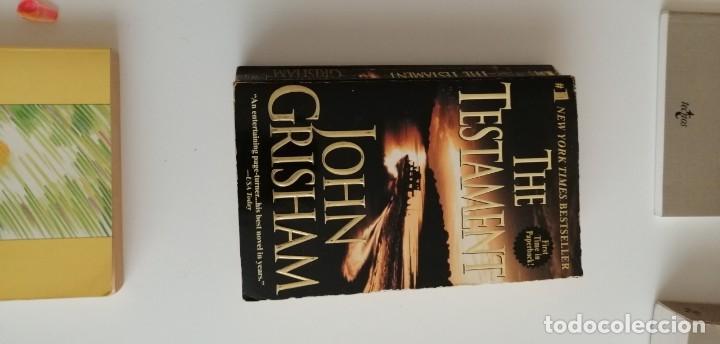 G-33 LIBRO THE TESTAMENT JOHN GRISHAM (Libros nuevos sin clasificar)