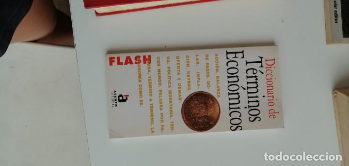 G-34 LIBRO DICCIONARIO DE TERMINOS ECONOMICOS FLASH (Libros nuevos sin clasificar)