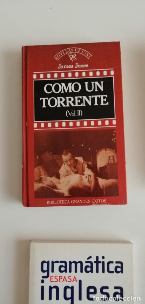G-34 LIBRO COMO UN TORRENTE VOL, II JAMES JONES (Libros nuevos sin clasificar)