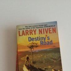 Libros: G-34 LIBRO LARRY NIVEN DESTINY´S ROAD. Lote 215666527