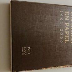 Libros: G-34 LIBRO DIARIO DE CADIZ UN SIGLO EN PAPEL 1901-2000. Lote 215668732