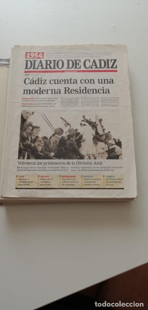Libros: G-34 LIBRO DIARIO DE CADIZ UN SIGLO EN PAPEL 1901-2000 - Foto 3 - 215668732