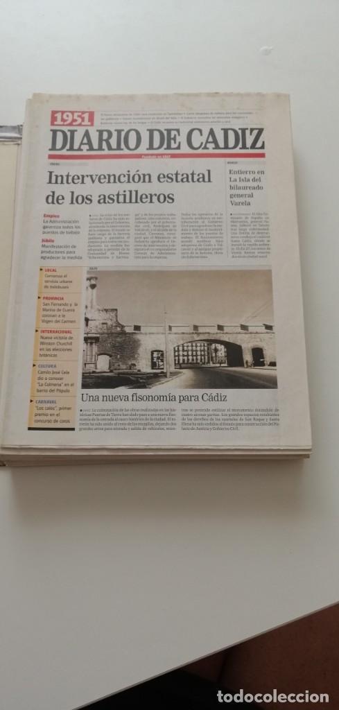 Libros: G-34 LIBRO DIARIO DE CADIZ UN SIGLO EN PAPEL 1901-2000 - Foto 4 - 215668732