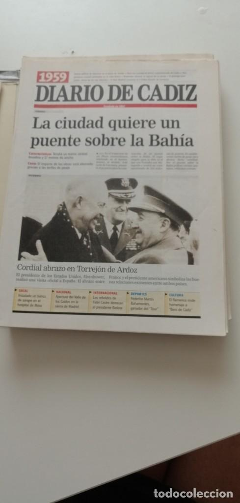 Libros: G-34 LIBRO DIARIO DE CADIZ UN SIGLO EN PAPEL 1901-2000 - Foto 6 - 215668732