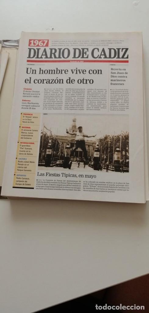 Libros: G-34 LIBRO DIARIO DE CADIZ UN SIGLO EN PAPEL 1901-2000 - Foto 9 - 215668732