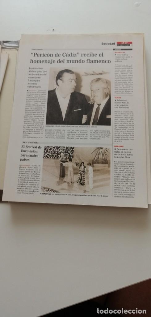 Libros: G-34 LIBRO DIARIO DE CADIZ UN SIGLO EN PAPEL 1901-2000 - Foto 10 - 215668732