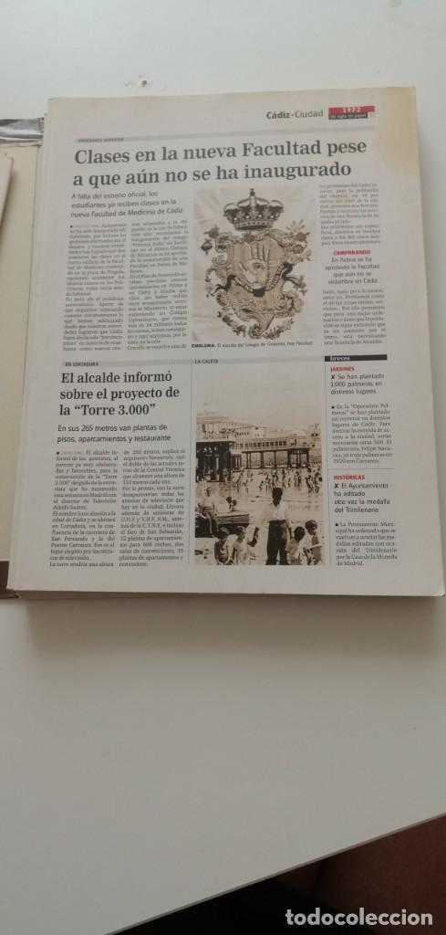 Libros: G-34 LIBRO DIARIO DE CADIZ UN SIGLO EN PAPEL 1901-2000 - Foto 11 - 215668732