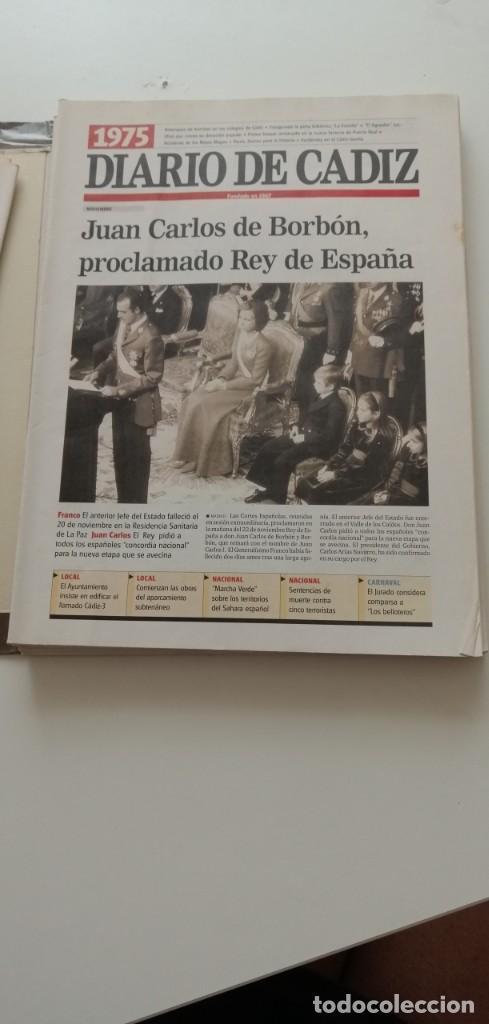 Libros: G-34 LIBRO DIARIO DE CADIZ UN SIGLO EN PAPEL 1901-2000 - Foto 12 - 215668732