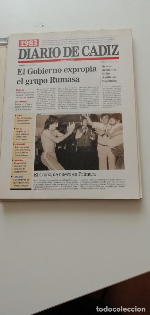 Libros: G-34 LIBRO DIARIO DE CADIZ UN SIGLO EN PAPEL 1901-2000 - Foto 15 - 215668732