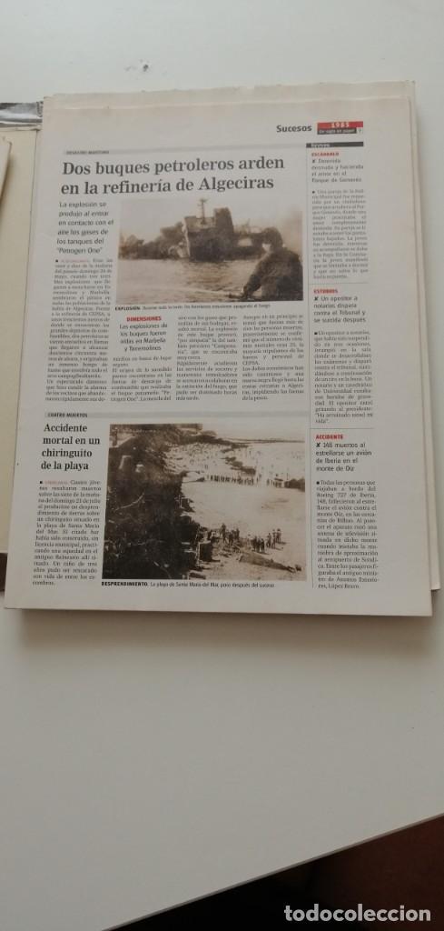 Libros: G-34 LIBRO DIARIO DE CADIZ UN SIGLO EN PAPEL 1901-2000 - Foto 16 - 215668732