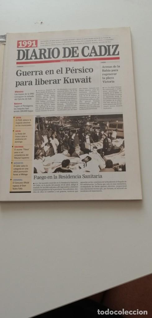Libros: G-34 LIBRO DIARIO DE CADIZ UN SIGLO EN PAPEL 1901-2000 - Foto 18 - 215668732