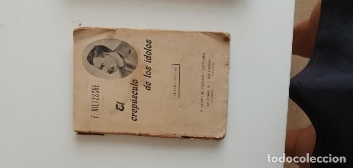 G-34 LIBRO F. NIETZSCHE EL CREPUSCULO DE LOS IDOLOS (Libros nuevos sin clasificar)