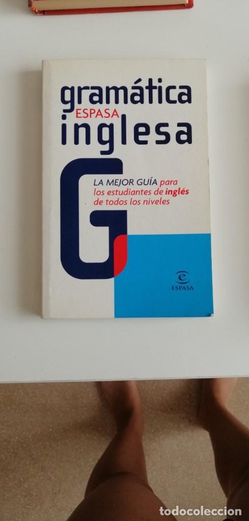 G-34 LIBRO GRAMATICA ESPASA INGLESA (Libros nuevos sin clasificar)