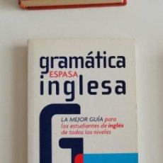 Libros: G-34 LIBRO GRAMATICA ESPASA INGLESA. Lote 215665450