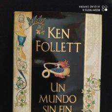 Libros: BEST SELLER THRILLER. UN MUNDO SIN FIN. KEN FOLLETT. PRECIO DE ENVIO CERTIFICADO INCLUIDO. Lote 217012295