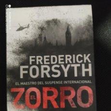 Livros: BEST SELLER THRILLER. EL ZORRO. FREDERICK FORSYTH. PRECIO DE ENVIO CERTIFICADO INCLUIDO. Lote 217013986