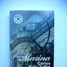 Libros: LIBRO - MARINA DE CARLOS RUIZ ZAFON. Lote 217988175