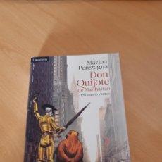 Libros: DON QUIJOTE DE MANHATTAN( TESTAMENTO YANKEE), MARINA PEREZAGUA,2016, NOVELA DIVERTIDA. Lote 218328407
