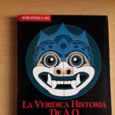Libros: LIBRO PERIÓDICO BIBLIOTECA EL SOL ( LU XUN) ( LA VERIDICA HISTORIA DE LA AQ ). Lote 218341486