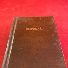 Libros: QUIEBRAS. Lote 218361026