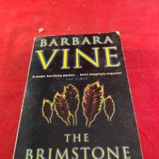 Libros: BARBARA VINE - THE BRIMSTONE WEDDING. Lote 218364560