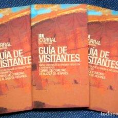 Libros: CORRAL DE COMEDIAS DE ALCALÁ DE HENARES GUÍA DE VISITA AL TEATRO DOCUMENTADO MÁS ANTIGUO DE EUROPA. Lote 218448370