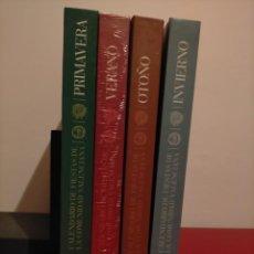 Libros: CALENDARIO FIESTAS DE LA COMUNIDAD VALENCIANA (4 LIBROS. PRIMAVERA, VERANO, OTOÑO E INVIERNO). Lote 218506090