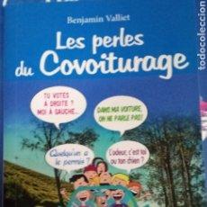 Libros: LIBRO:LES PERLES DU COVOITURAGE. Lote 218714687