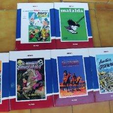 Libros: COMICS EL PAIS,LOTE DE 6 LIBROS,TAPA DURA. Lote 218733450