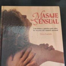 Libros: MASAJE SENSUAL. Lote 218791356