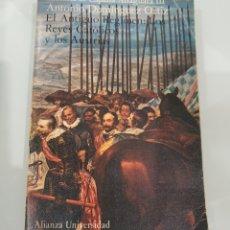 Libros: LIBRO EL ANTIGUO RÉGIMEN DE LOS REYES CATÓLICOS. Lote 218936930