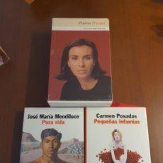 Libros: PACK FINALISTAS PREMIO PLANETA 1998. Lote 218981897