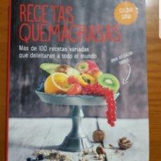Libros: LIBRO RECETAS QUEMAGRASAS.. Lote 219465853