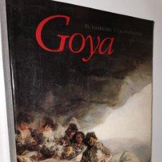 Livres: GOYA. EL CAPRICHO Y LA INVENCIÓN. CUADROS DE GABINETE, BOCETOS Y MINIATURAS.. Lote 219717958