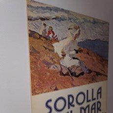 Libros: 4 LÁMINAS SOROLLA Y EL MAR, ARTECROM 1980. ORIGINALES DE 1909 Y 1906. Lote 219722701