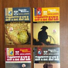 Libros: 4 NOVELAS DE MARCIAL LAFUENTE ESTEFANÍA - NUEVAS. Lote 220100361