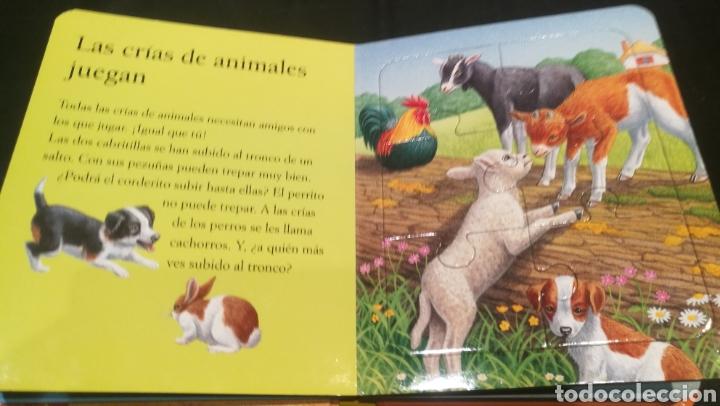 Libros: LIBRO DE PUZZLES ( 6 PUZZLES ) LOS ANIMALES DE LA GRANJA Y SUS CRIAS - Foto 2 - 221142513
