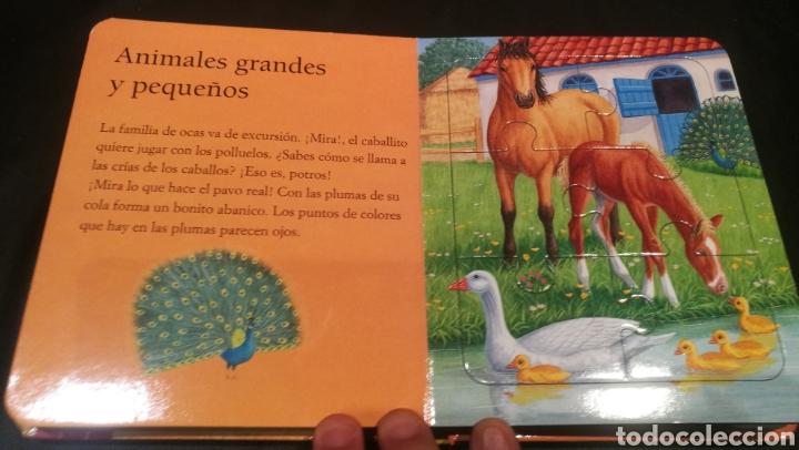 Libros: LIBRO DE PUZZLES ( 6 PUZZLES ) LOS ANIMALES DE LA GRANJA Y SUS CRIAS - Foto 3 - 221142513