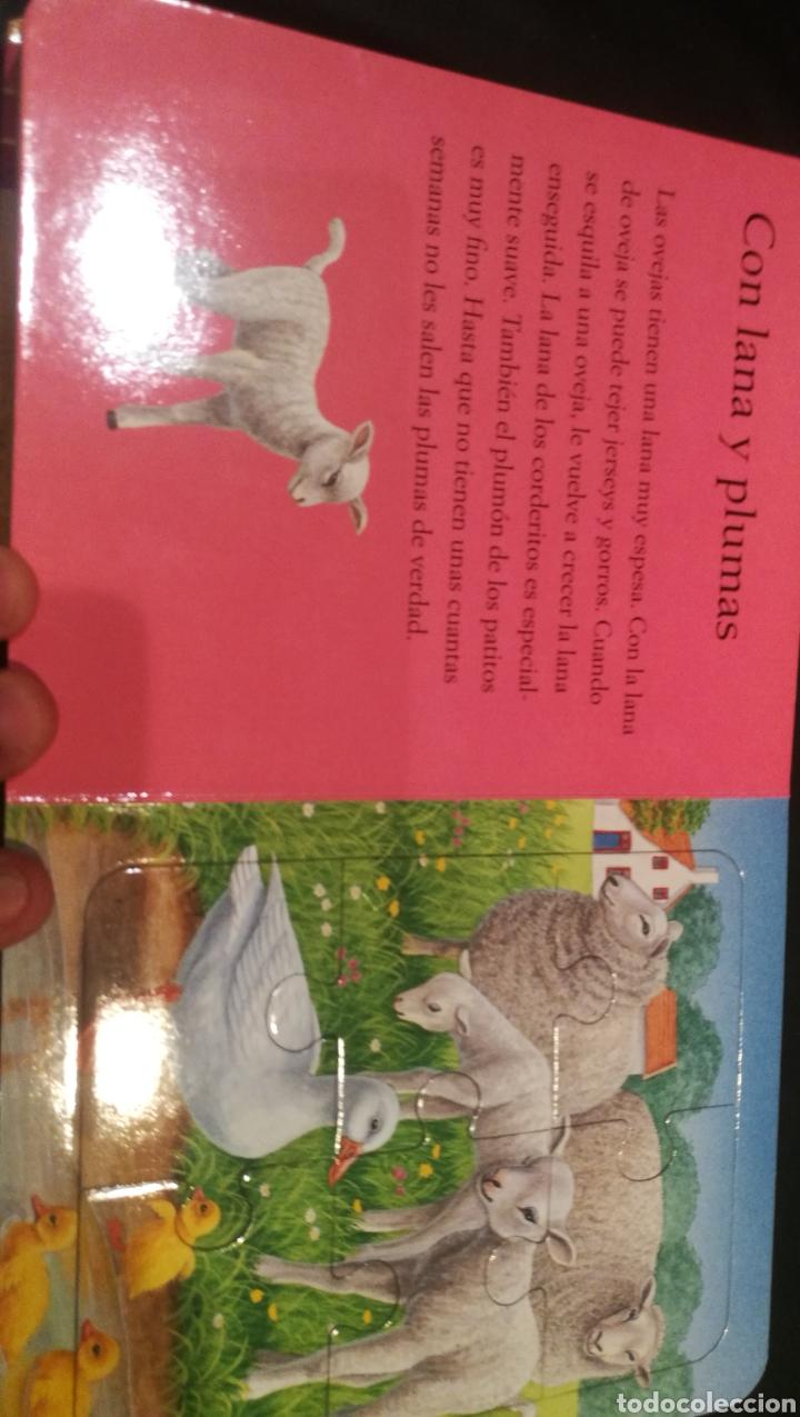 Libros: LIBRO DE PUZZLES ( 6 PUZZLES ) LOS ANIMALES DE LA GRANJA Y SUS CRIAS - Foto 4 - 221142513