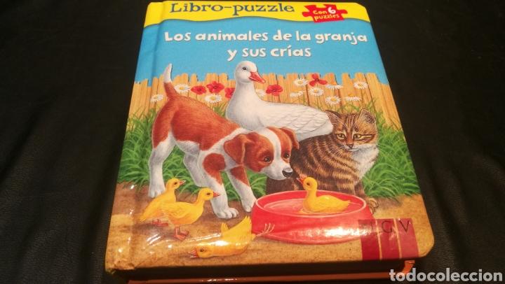 LIBRO DE PUZZLES ( 6 PUZZLES ) LOS ANIMALES DE LA GRANJA Y SUS CRIAS (Libros nuevos sin clasificar)