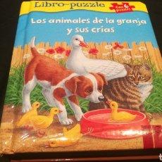 Libros: LIBRO DE PUZZLES ( 6 PUZZLES ) LOS ANIMALES DE LA GRANJA Y SUS CRIAS. Lote 221142513