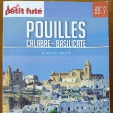 Libros: LIBRO POUILLES CALABRE - BASILICATE. Lote 221558527