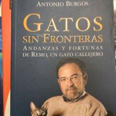 Libros: GATOS SIN FRONTERAS ANTONIO BURGOS. Lote 222384583