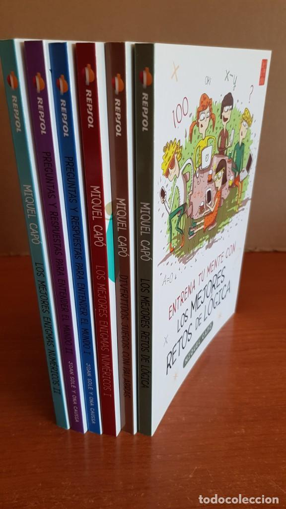 Libros: DE 9 A 99 AÑOS / ENTRENA TU MENTE CON... MIQUEL CAPÓ - 2018 / COMPLETO A ESTRENAR. - Foto 12 - 222652160