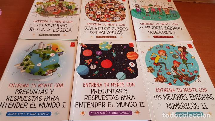 DE 9 A 99 AÑOS / ENTRENA TU MENTE CON... MIQUEL CAPÓ - 2018 / COMPLETO A ESTRENAR. (Libros nuevos sin clasificar)