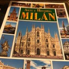 Libros: ARTE E HISTORIA BONECH MILAN. Lote 222709402