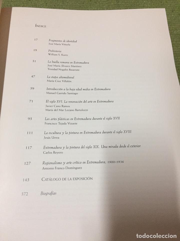 Libros: EXTREMADURA. FRAGMENTOS DE IDENTIDAD. GUERREROS. SANTOS. ARTESANOS. ARTISTAS (1998) - Foto 3 - 222714663